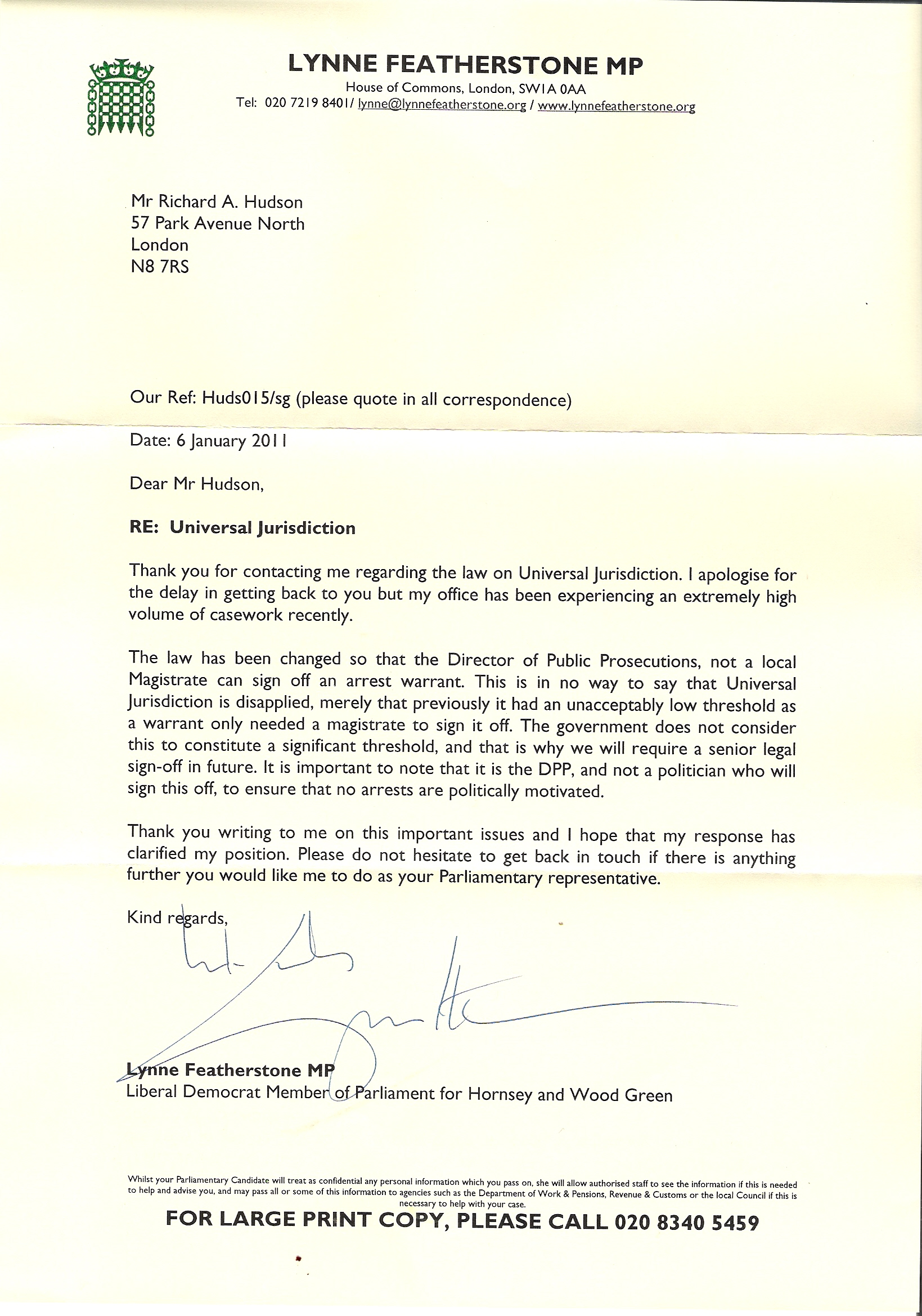 Uk government and israel richard dick hudson 2011 further letter from my spiritdancerdesigns Images