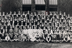 1926ish Gretta in Nuneaton High School - back row, 5 from right