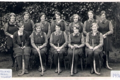 1931ish Gretta in MADC Ladies' Hockey team