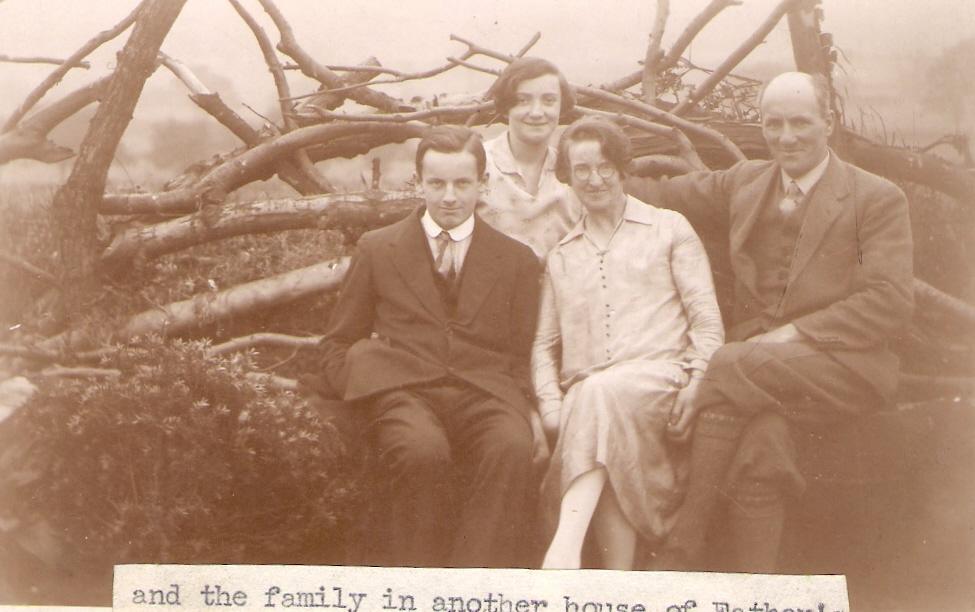 1928ish John, Molly, Bertha, Arthur