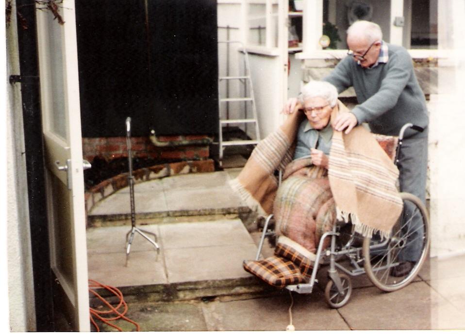 1988ish caring for Gretta