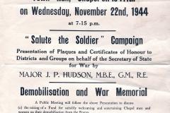 1944 Chapel meeting