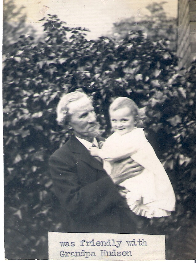1913 George Hudson with Mollie