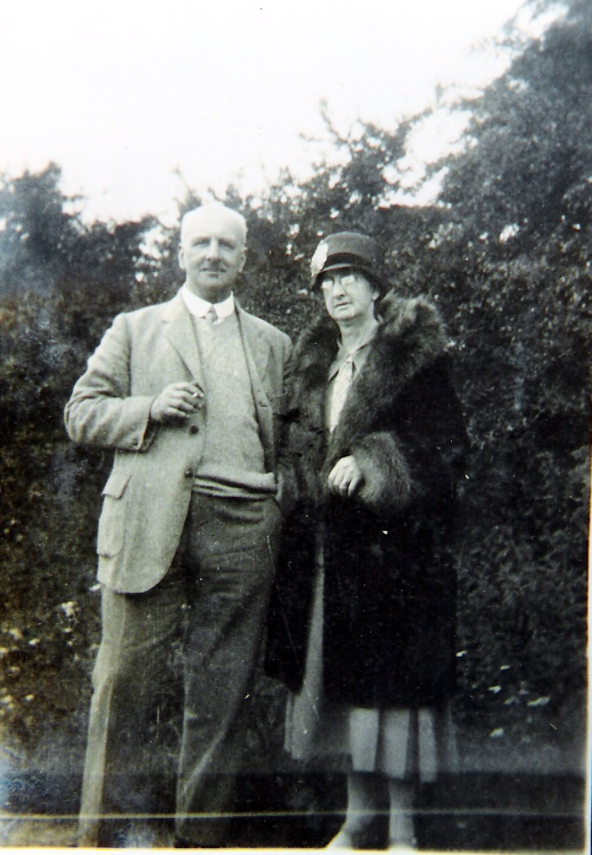 1928 James Hudson + wife