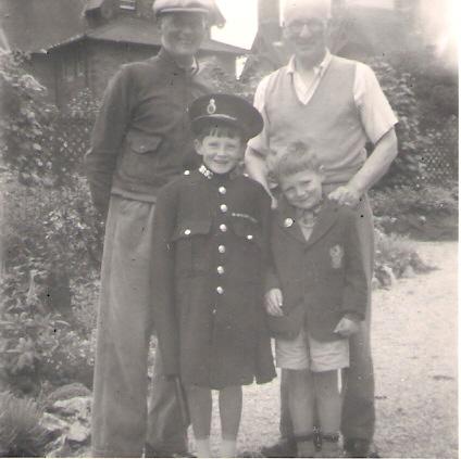 1957ish William Arthur, George Dempster, Raymond, David 2
