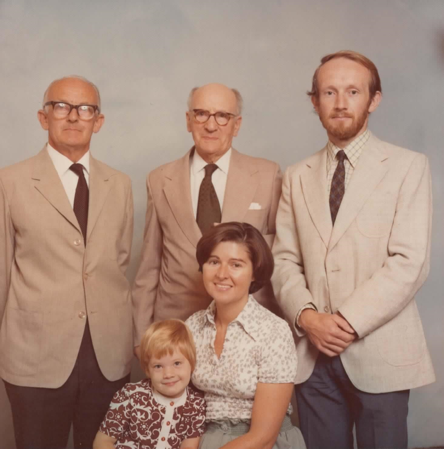 1975 JPH, WAH, RAH, Lucy, Gaynor