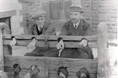 1910ish William Arthur Hudson & William Pilkington, b of Bertha
