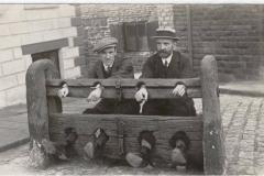 1910ish William Hudson (in cap) and William Pilkington