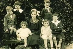 1916ish x,x,x, Connie, Mollie, John, x