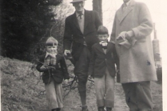 1957ish William Arthur, George Dempster, Raymond, David 1