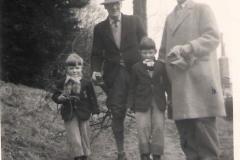 1957ish William Arthur, George Dempster, Raymond, David 1