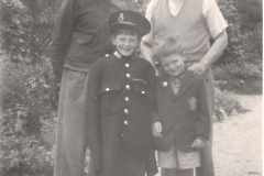 1957ish William Arthur, George Dempster, Raymond, David 2